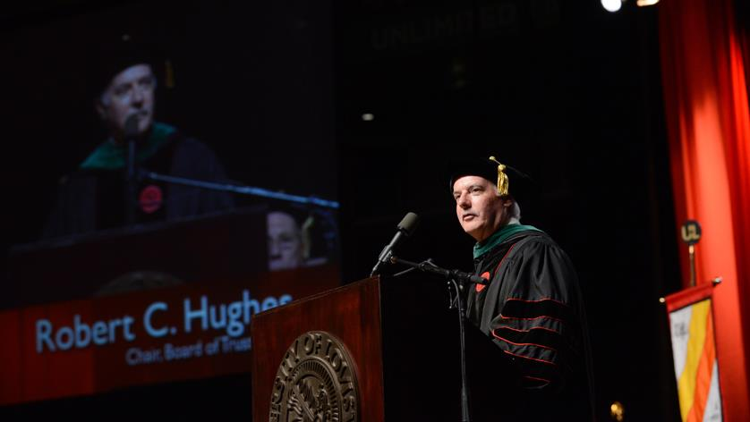 Robert C. Hughes named Alumnus of the Year